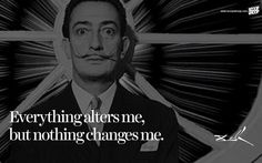 20 Salvador Dali Quotes That Give Us A Glimpse Into The Eccentric Genius's Mind Salvador Dali Quotes, Salvador Dali Tattoo, Canvas Art Quotes, Digital Art Photography, Artist Quotes, Philosophy Quotes, Psychology Quotes, Motivational Words, Love Words