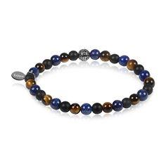 Originals Remix x Lapis Tiger Unisex Bead Bracelet