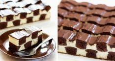 Připravte si tento šachový tvarohový koláč. Nejprve si udělejte těsto a krém! Strávíte při tom jen 30 minut!
