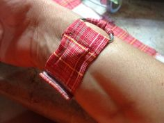 My fight against motion sickness and nausea... DIY sea bands