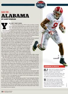 Derrick Henry - Dec. 12, 2016 Sports Illustrated Issue - 2016 College Football Playoff Preview #Alabama #RollTide #Bama #BuiltByBama #RTR #CrimsonTide #RammerJammer