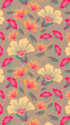100/% Coton Tissu-Vintage Floral Design-Pink Roses on Green NEW-56 pouces de large