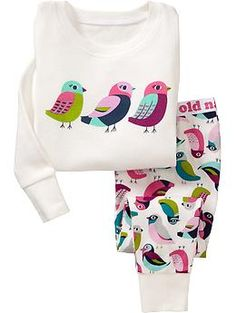 Bird PJ Sets for Baby | Old Navy