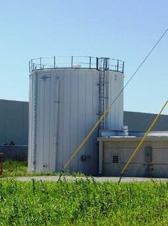 Water storage tank for fire protection, really cool tanks