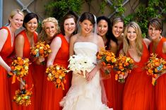 Fall Wedding Colors Bridesmaid Dresses | Georgia Wedding at Green Island Country Club from Bound By