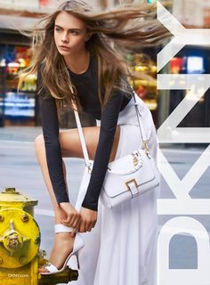 Cara Delevingne Takes on New York City for DKNY's Spring 2013 Ad Campaign | Style Republic Magazine