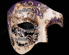 Men's Masquerade Mask Roman Copper Venetian Mask by 4everstore