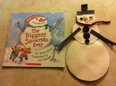 "Activity for the book ""The Biggest Snowman ever"""