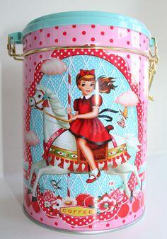 fiona hewitt coffee tin