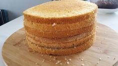 Piškótový korpus na tortu Czech Recipes, Ethnic Recipes, Cornbread, Vanilla Cake, Baking Recipes, Food And Drink, Desserts, Millet Bread, Cooking Recipes