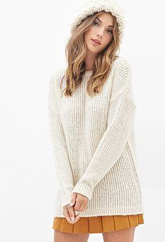 Drop-Sleeve Sweater | Forever21 - 2000138052
