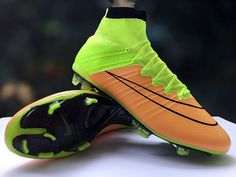 392eee8545f6 Nike Mercurial Superfly FG Canvas Volt Black