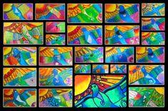 Room 5 explored koru art and maori designs before reading the story of Rata and the Totara Tree. We discovered that just like the bir. Nz Art, Art For Art Sake, Art Activities For Kids, Art For Kids, Maori Legends, Maori Symbols, Cultural Crafts, New Zealand Art, Maori Art
