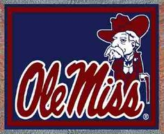 """University of MS """"Ole Miss"""", Oxford, MS  Hotty Totty!"""