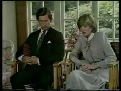 Interview before Prince Charles and Lady Diana's wedding.