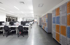 As fotos finais da nova sede da Conecta Serviços! A empresa que completa 15 anos de mercado trabalhando em soluções de proteção móvel, tem um novo escritório localizado em Alphaville, realizado pela Arealis Brasil ! #arquiteturacorporativa #corporatearchitecture