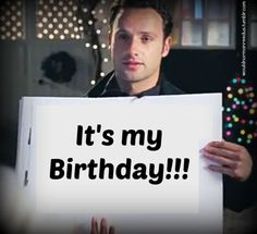 Andrew Lincoln's bday!!