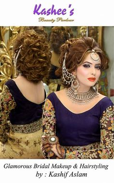 Makeup by kashif aslam by kashee 's beauty parlour