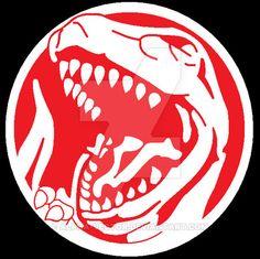 ZyuRanger - Tyranno Symbol by Alpha-Vector on DeviantArt Power Ranger Dino Charge, Power Ranger Party, Dbz, Rangers Gear, Original Power Rangers, Power Rengers, Kamen Rider Gaim, Pokemon Tattoo, Go Go Power Rangers