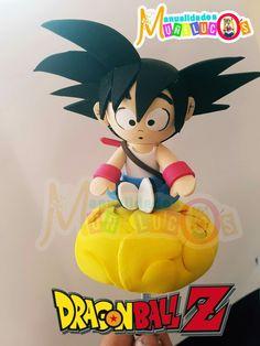 Biscuit, Ideas Para Fiestas, Anime Fairy, Themed Cakes, Goku, Dragon Ball Z, Chibi, Birthday Parties, Clay