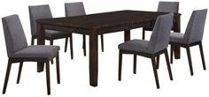 Jodi 7 Piece Dining Set - Art Van Furniture