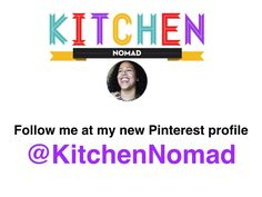 I've moved to @KitchenNomad, please follow me there!