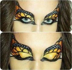 DIY Halloween Makeup : halloween-eye-makeup Halloween Makeup #halloween #makeup