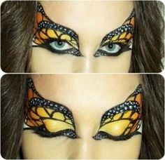 DIY Halloween Makeup : halloween-eye-makeup