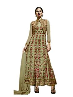 Shoppingover Pakistani Style Long #Anarkali Suit in George... https://www.amazon.com/dp/B01HGROYXS/ref=cm_sw_r_pi_dp_aH9AxbNANWFQQ