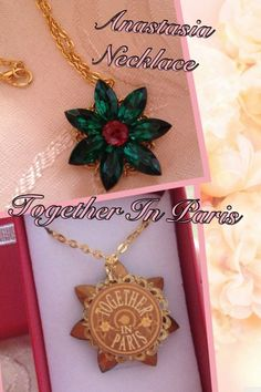 Anastasia Necklace Together In Paris by ~TogetherinParis4994 on deviantART I would love this!