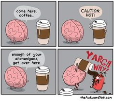 My relationship with coffee.