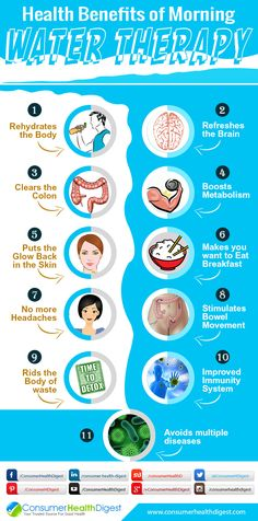 #HealthBenefits #Water: 11 Health Benefits of Morning Water Therapy You Don't Know - https://www.consumerhealthdigest.com/general-health/health-benefits-of-morning-water-therapy.html