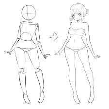 Image Result For Full Body Reference Anime Body Reference