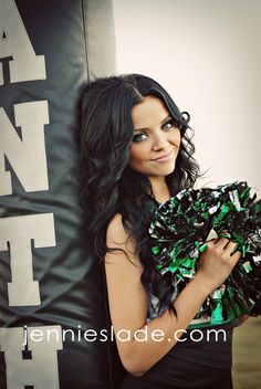 Cheerleader senior picture ideas for girls. Sports senior picture ideas for girls. Cheerleading Senior Pictures, Senior Cheerleader, Girl Senior Pictures, Senior Girls, Senior Photos, School Cheerleading, Volleyball Pictures, Softball Pictures, Senior Portraits