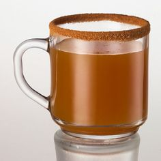 Cinnamon Toast drink Ingredients: --1 1/4 ounce(s) Captain Morgan Original Spiced Rum --6 ounce(s) hot apple cider --1 tablespoon(s) sugar --1 tablespoon(s) cinnamon Directions: Add hot apple cider and Captain Morgan Original Spiced Rum to a glass rimmed with sugar and cinnamon.