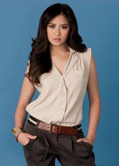 Filipina Actress and Singer Sarah Geronimo