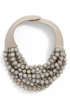 Fairchild Baldwin Multirow Beaded Collar Necklace available at #Nordstrom