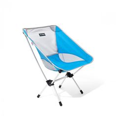 Available in a variety of different colors, this 1.9lb. folding camp chair is a friend to anyone on the go. Packing down smaller than the Sunday Times, you can take your Helinox Chair One anywhere. Utilizing anodized DAC aluminum poles, Chair One is strong enough to support folks up to 320lbs. It's both comfortable and stylish, and you and all your friends will be psyched to have it around the campfire, outdoor concert venue, or even on a backpacking trip.The ultimate camp chair has…