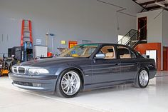 Bmw Vintage, Bmw E38, Bmw Alpina, Bmw Classic Cars, Pontiac Bonneville, Bmw 7 Series, Denver Colorado, Bmw Cars, Bmw Logo