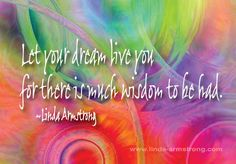 What are your Dreams telling you? Great Interview with Dream Coach Jean Kathryn Carlson, if you missed the show on Wednesday, click here to listen right from my website.  So much info to help you to understand your dreams. Enjoy! http://www.linda-armstrong.com/dreams-telling/