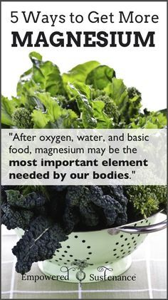 Easy, practical and effective ways to get more magnesium - pin now for later #health #cleaneating #magnesium