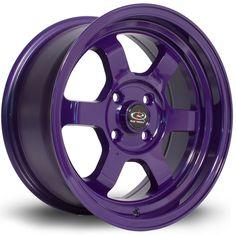 15 ROTA GRID-V VIOLET 7J 4 stud 20 offset alloy wheels