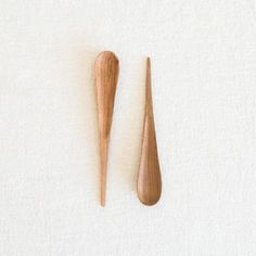 Olivewood Spike Spoon at General Store