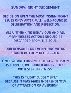 Sunday: Right Judgement Exercises for the Days of the Week by Rudolf Steiner