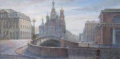 Волшебные петербургские виды от художницы Марии Лобановой.