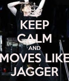 Only Mick Moves like Jagger