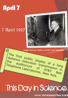 April 7 | Mr. Researcher