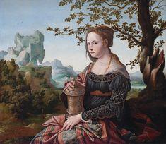 File:Jan van Scorel - Maria Magdalena (Rijksmuseum Amsterdam version) - 2.jpg