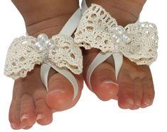 Sandalias pies Descalzas pies descalzos sandalias por AllBabyGirls