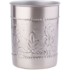 Pier 1 Imports Antique Pewter Tool Caddy ($25) ❤ liked on Polyvore featuring home, kitchen & dining, kitchen gadgets & tools, silver and pier 1 imports